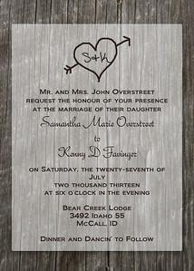 Samantha Overstreet Invite