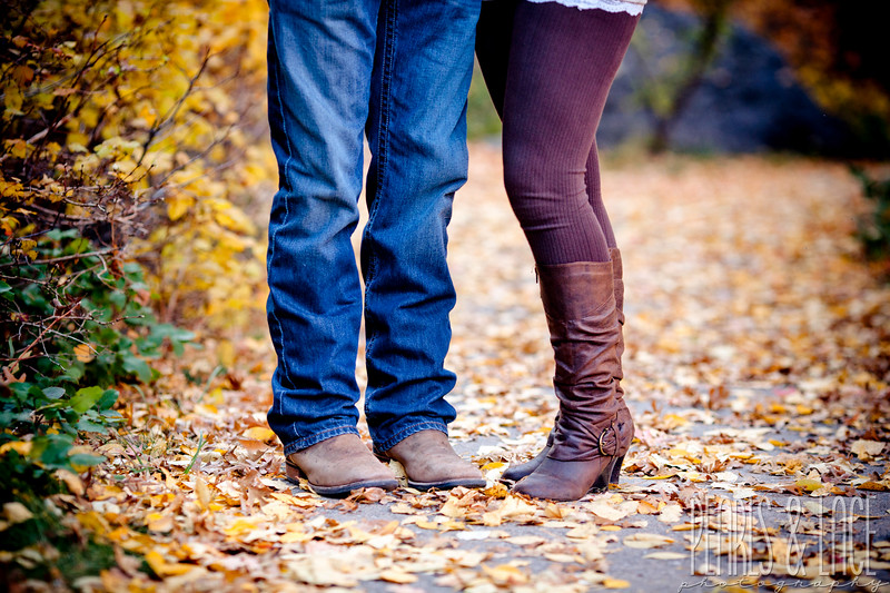 Sheena & Josh Big Cottonwood Engagement Session