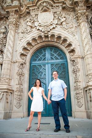 Stephanie & Neil | Balboa Park