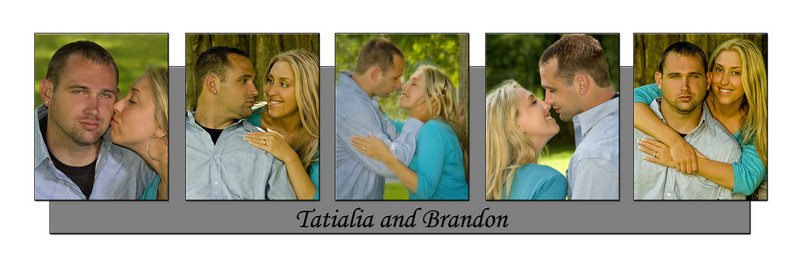 Tasha & Brandon collage #2