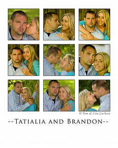Tasha & Brandon collage #1