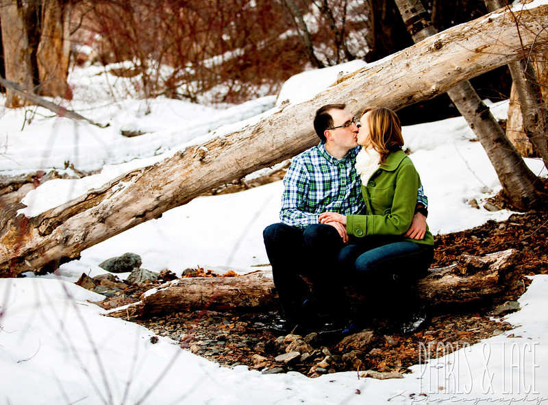 Whitney & Sam Big Cottonwood Engagement Session