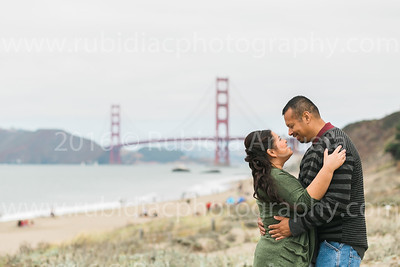 Yesenia and Ray SF Engagement Proofs
