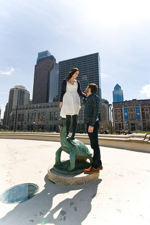 Adrienne and Dan