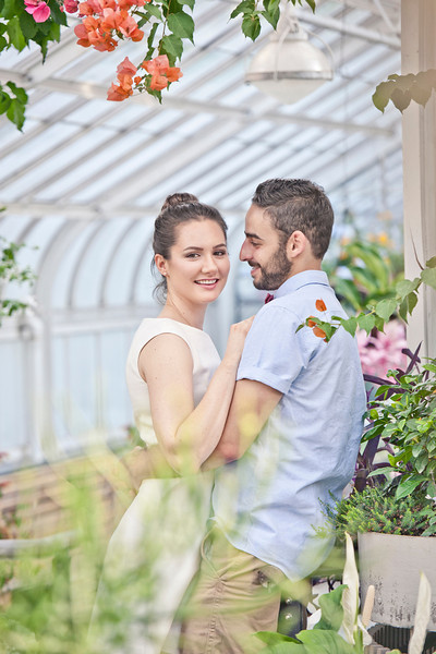 Wedding Photographer Montreal   Engagement Photos   Westmount Park   Greenhouse   Montreal   Lindsay Muciy Photography and Videography