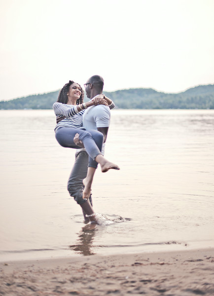 Montreal Wedding Photographer | Tremblant Engagement Photography | LMP Wedding Photo and Video