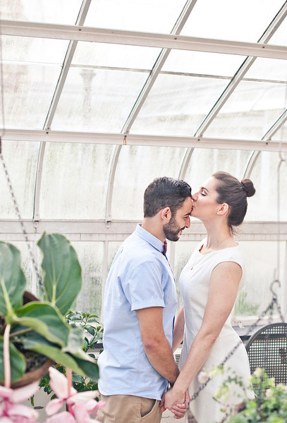 Wedding Photographer Montreal | Engagement Photos | Westmount Park | Greenhouse | Montreal | Lindsay Muciy Photography and Videography