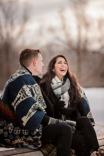Best Montreal Wedding Lifestyle Photographer | Engagement Photography | Beaver Lake | Lindsay Muciy Photography and Video