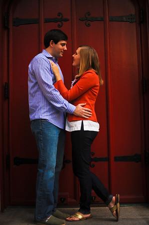 Dave Zimmerman and Katie Adams