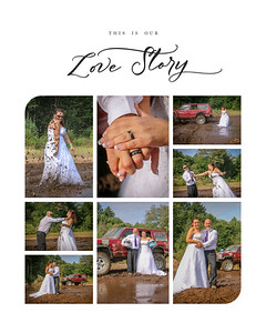 This is our Love Story - Can be printed as 8x10, 11x14, or 16x20 only