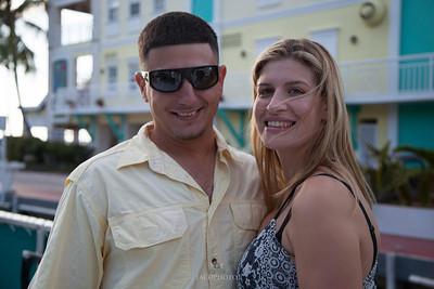 Ashley and Jose Sunset Cruise