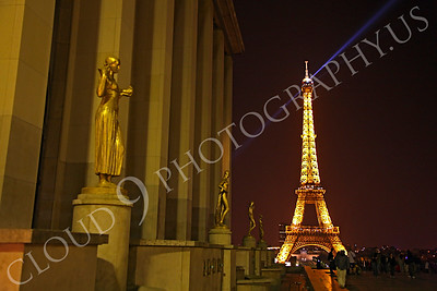 Eiffell Tower 00013 Eiffell Tower in Paris, France by Peter J Mancus