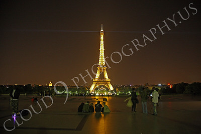 Eiffell Tower 00075 Eiffell Tower in Paris, France by Peter J Mancus