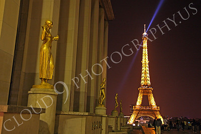 Eiffell Tower 00079 Eiffell Tower in Paris, France by Peter J Mancus