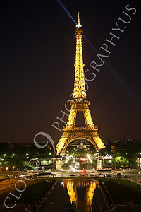 Eiffell Tower 00065 Eiffell Tower in Paris, France by Peter J Mancus