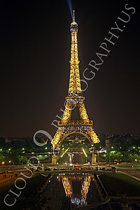 Eiffell Tower 00045 Eiffell Tower in Paris, France by Peter J Mancus