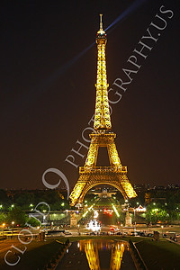 Eiffell Tower 00053 Eiffell Tower in Paris, France by Peter J Mancus