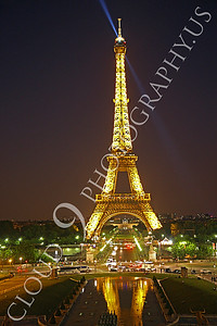 Eiffell Tower 00039 Eiffell Tower in Paris, France by Peter J Mancus