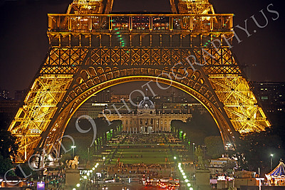 Eiffell Tower 00019 Eiffell Tower in Paris, France by Peter J Mancus