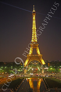 Eiffell Tower 00021 Eiffell Tower in Paris, France by Peter J Mancus