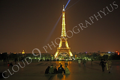 Eiffell Tower 00069 Eiffell Tower in Paris, France by Peter J Mancus