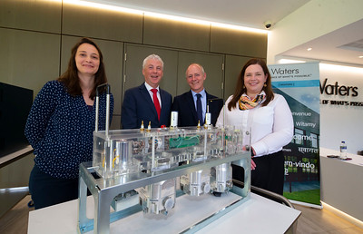 20/06/2019. Engineered for success. Industry leaders launch cluster to promote engineering in South East.  Engineering the South East was launched in Wexford this morning with a mission to see companies working together to address skills needs, promote careers in engineering and advance the engineering capabilities of the region.   Pictured are Celine Walsh, Suir Engineering, Waterford, Ken Thomas, Head of Engineering WIT,  Michael Carbery, new chair of 'Engineering the South East' & Keenan Alltech, Borris and Casey O'Connor, Glanbia. Picture: Patrick Browne