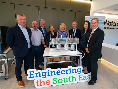 20/06/2019. Engineered for success. Industry leaders launch cluster to promote engineering in South East.  Engineering the South East was launched in Wexford this morning with a mission to see companies working together to address skills needs, promote careers in engineering and advance the engineering capabilities of the region.   Pictured are Martin Stapleton CDS Architectural Metalwork, Kilkenny, Brian Bible, Auto Launch, Bagnalstown, Edmond Connolly South East Regional Skills Forum, Lily Holmes, Burnside Group, Carlow, Carrie Rockett, Integer, NewRoss, Michael Carbery, new chair of 'Engineering the South East' & Keenan Alltech, Borris, Celine Walsh, Suir Engineering, Waterford, Liam Hore, Waters Technologies, Wexford.. Picture: Patrick Browne