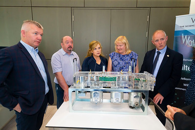 20/06/2019. Engineered for success. Industry leaders launch cluster to promote engineering in South East.  Engineering the South East was launched in Wexford this morning with a mission to see companies working together to address skills needs, promote careers in engineering and advance the engineering capabilities of the region.   Pictured are Martin Stapleton CDS Architectural Metalwork, Kilkenny, Brian Bible, Auto Launch, Bagnalstown, Lily Holmes, Burnside Group, Carlow, Carrie Rockett, Integer, NewRoss, Michael Carbery, new chair of 'Engineering the South East' & Keenan Alltech, Borris. Picture: Patrick Browne