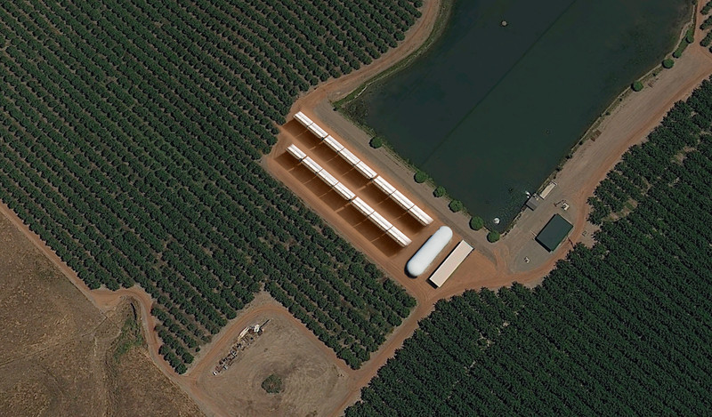 Moreland farm after