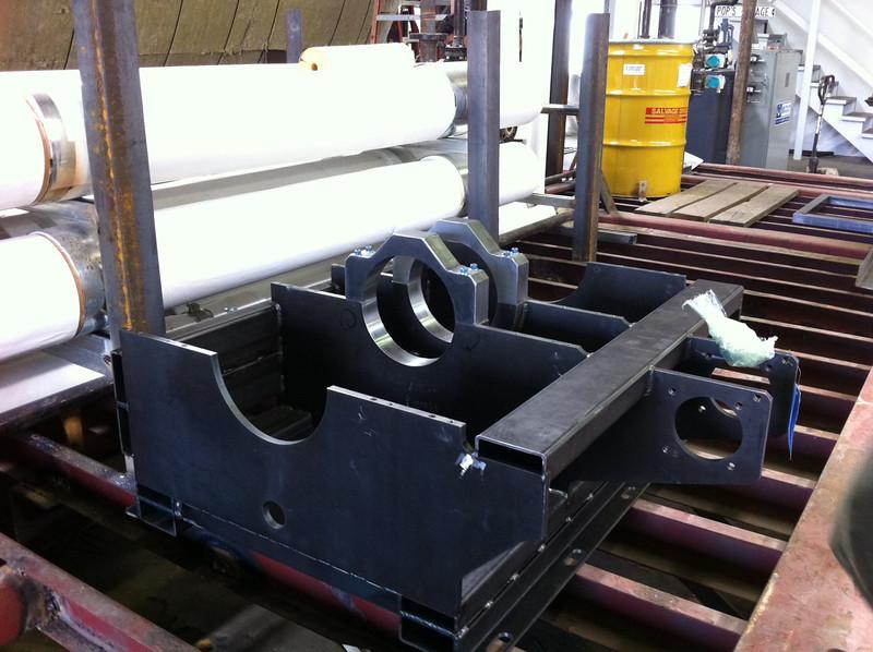 20110311 crankcase #1 on rack