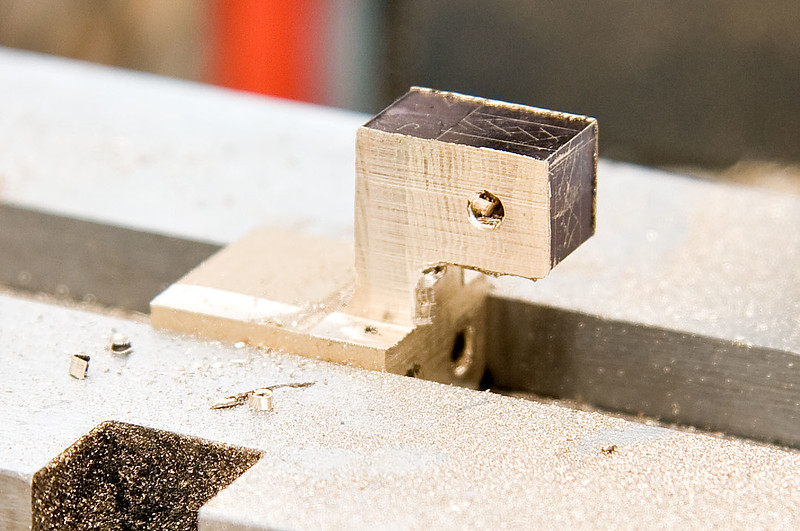 Milling the crossheads