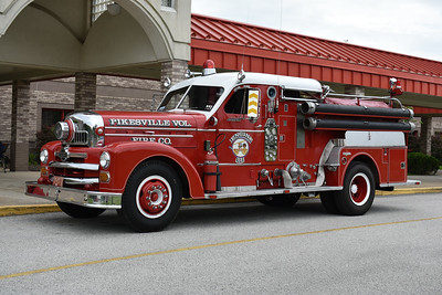 Pikesville, Maryland - 1956 Seagrave 70th Anniversary