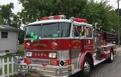 Creekside Fire Co. 21 - East Pennsboro, TWP, PA - 1983 Hahn