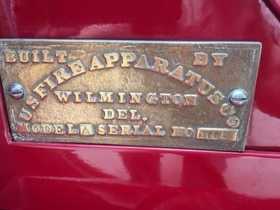 New Philadelphia, Pennsylvania - 1924 US Fire Apparatus Company