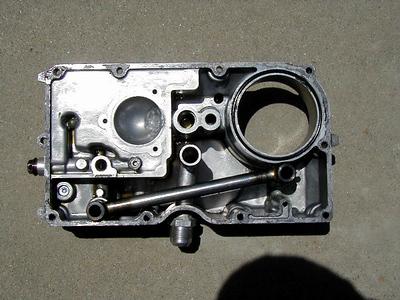 ZX-10 modified oil pan
