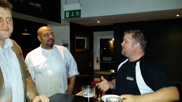 """The cook at The Normanby pub in Putney... """"There is no way I would ever attempt to eat that burger"""""""