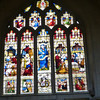 Bath Abbey stained glass window