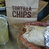 Yum.... steak burrito and a margarita at Chipotle!!!