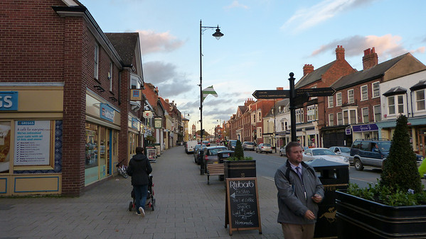 Main street in Newmarket