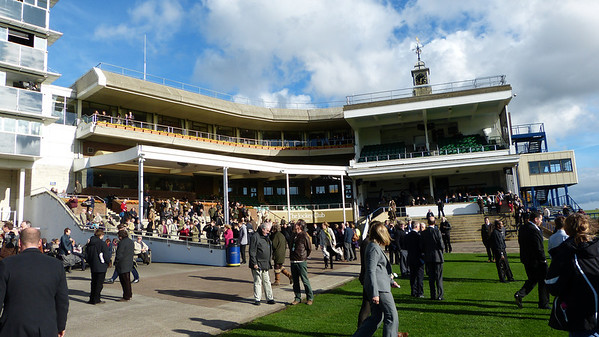 Club House at Newmarket racetrack