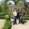 LDB and me at Longleat heart arbor