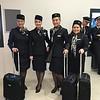 Icelandair flight attendants