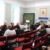 choir waiting in rehearsal room