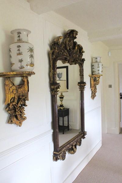 mirror in upstairs landing