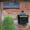 Parsonage mailbox