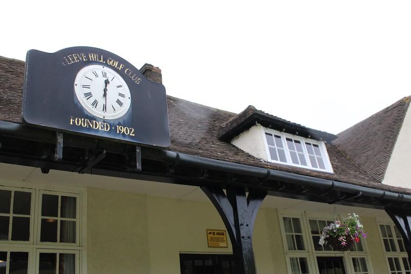 Cleve Hill golf club