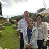 Nancy, Kay and Duncan at Diglis House