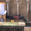 burial spot in Cathedral