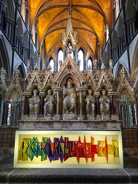 Reredos at Worcester Cathedral