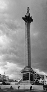 Nelsons Column Trafalgar Square London
